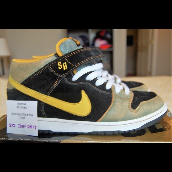 san francisco 36644 909a1 Nike Shoes | Dunk Mid Premium Sb Ashbury Park Sz 105 | Poshmark